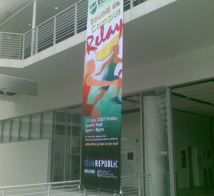 Republic Poly Banner
