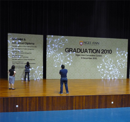 Exhibition Setup