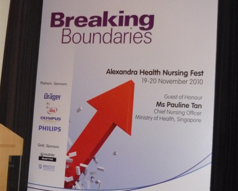Alexandra Health PVC Backdrop
