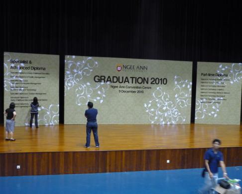 Ngee Ann Graduation Backdrop