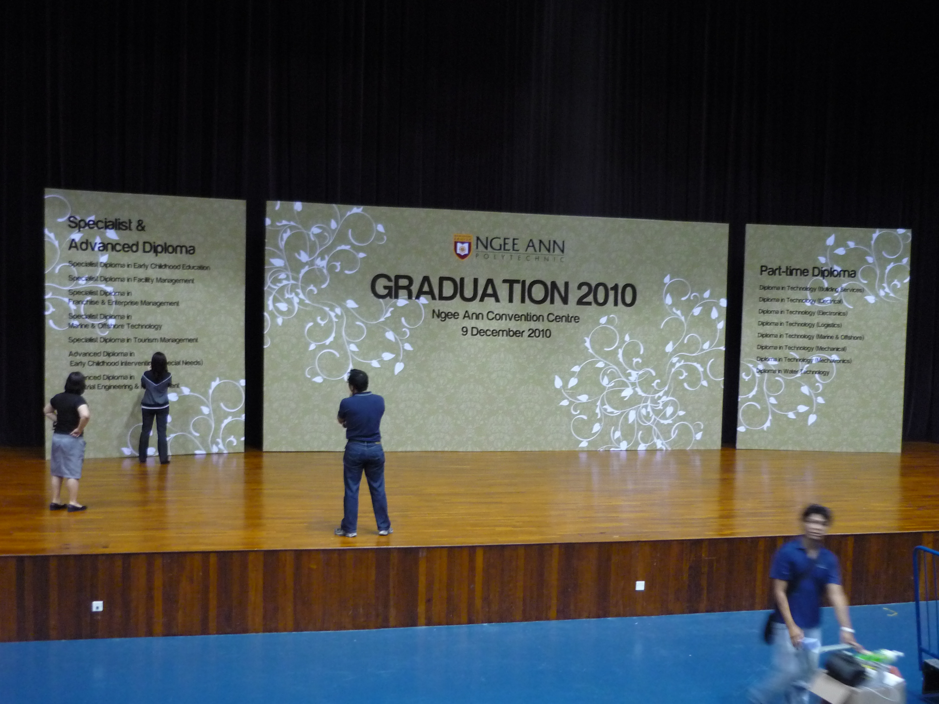 Customised Graduation Backdrop