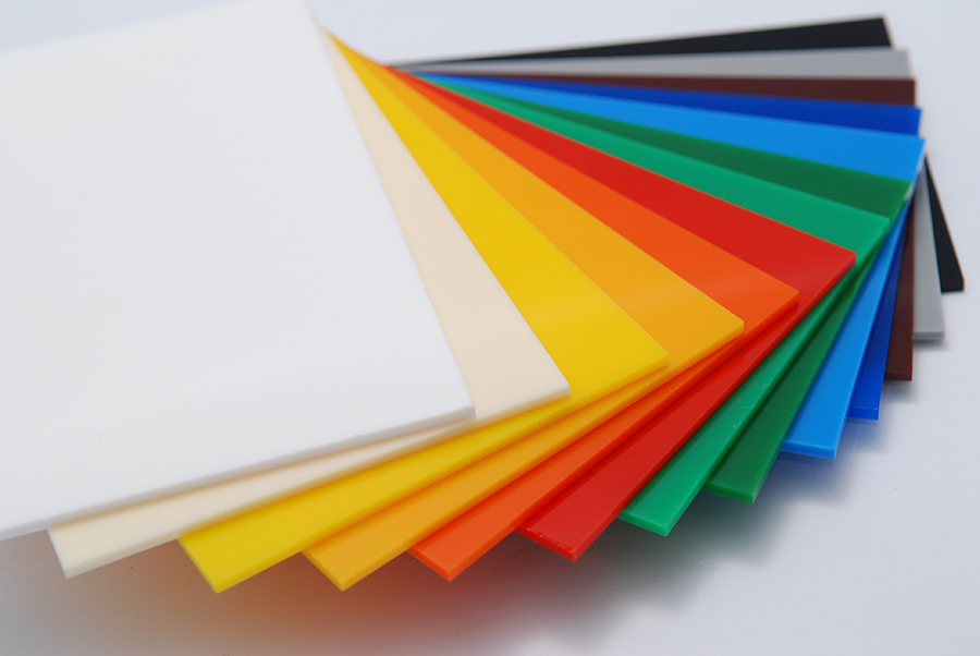 acrylic sample sheets